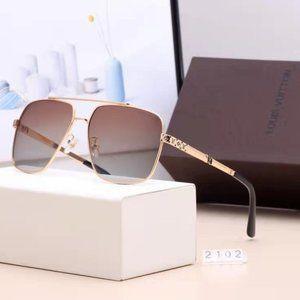 Louis Vuitton Sunglasses Brown Gold NWT YS020